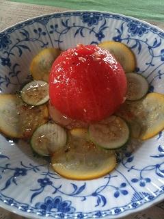 ガーデンカフェ タイム トマトサラダ