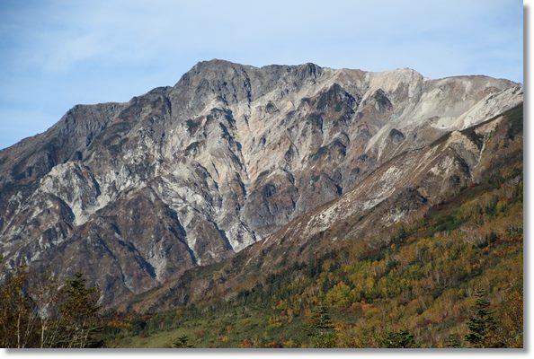 今日も晴天の栂池-2 白馬岳 15.10.3.
