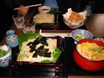 カツ丼&そば