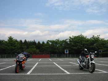 チラッと富士山