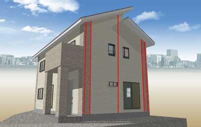 コーティング部2-タマホームで建てる家