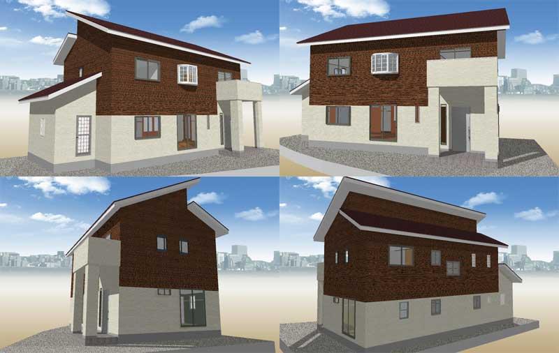 上下張り分け-タマホームで建てる家