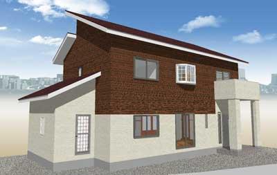 上下張り分け1-タマホームで建てる家