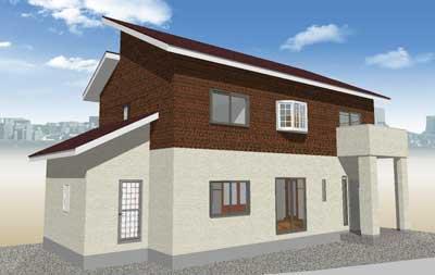 上下張り分け2-タマホームで建てる家
