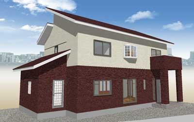上下張り分け3-タマホームで建てる家