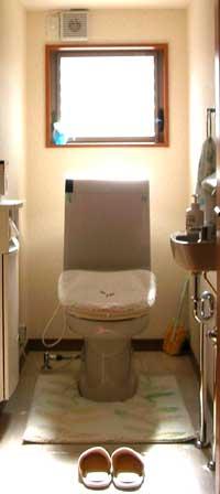 トイレ-とささん宅