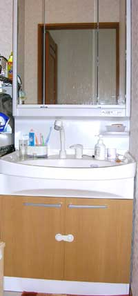 洗面台-とささん宅