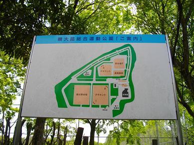 京阪淀駅周辺 横大路運動公園