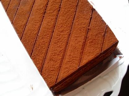 グランマニエチョコレートケーキ