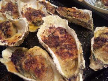 絶品牡蠣グラタンの完成