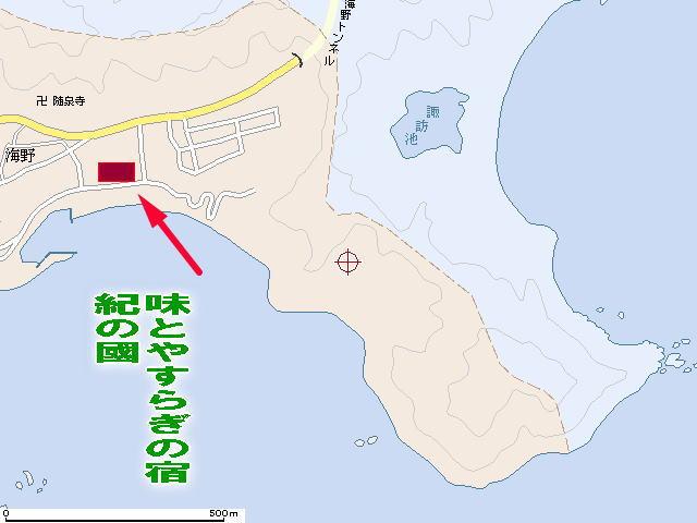 紀伊長島海野 地図