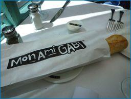 パリスホテル モナミガビのパン