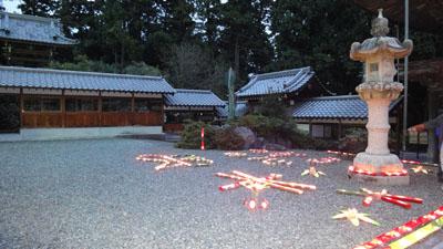 2010.10.23・石雲院・竹灯篭・2