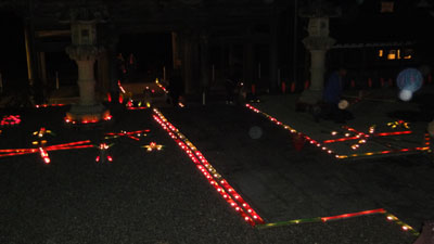 2010.10.23・石雲院・竹灯篭4