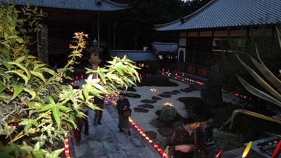 2010.10.23.・石雲院・竹灯篭・5