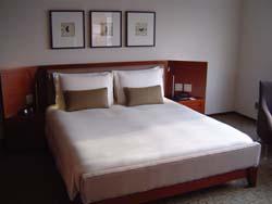 グランドハイアット  寝室