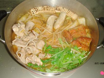 和風キムチ鍋 簡単レシピ