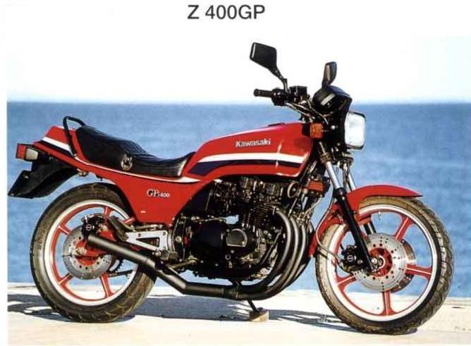 カワサキ・Z400GP