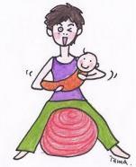 赤ちゃんとエクササイズ.JPG