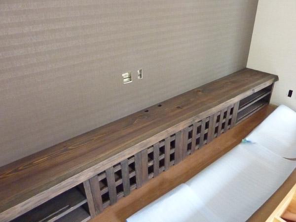 テレビボード 低い棚 ローチェスト