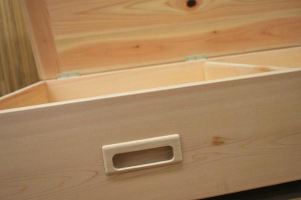 ベッド下に 収納BOX箱