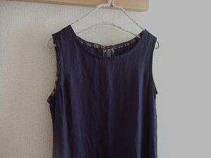 後ろリボンのドレス2-1