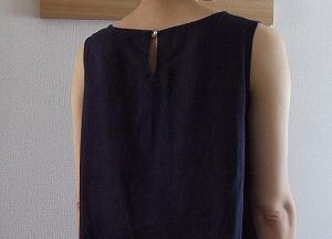 後ろリボンのドレス2-3