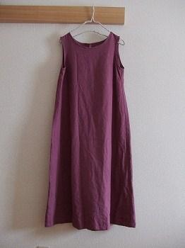 後ろリボンのドレス1