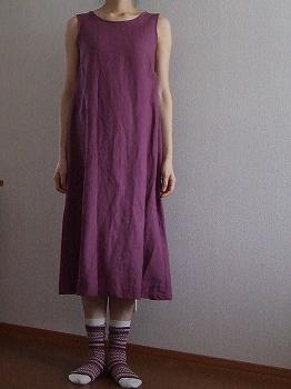 後ろリボンのドレス3