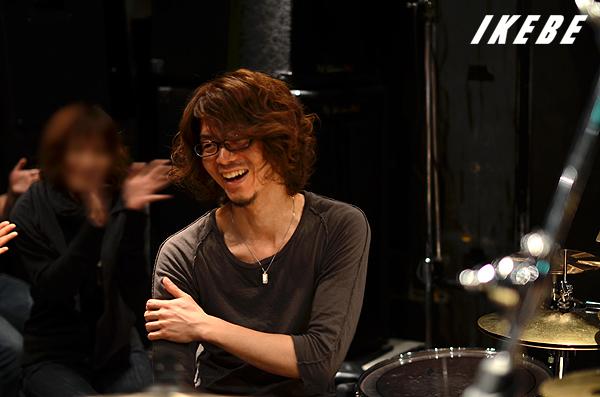 演奏後の笑顔