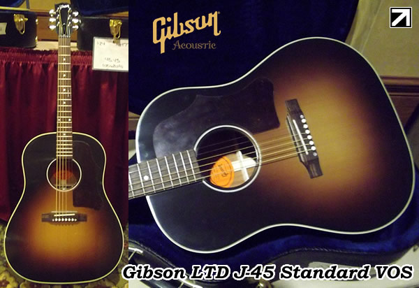Gibson LTD J-45 Standard VOS-BLOG