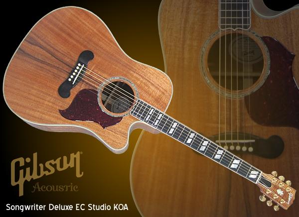 Gibson LTD Songwriter Deluxe EC Studio KOA