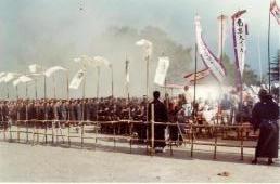砂煙の葬式