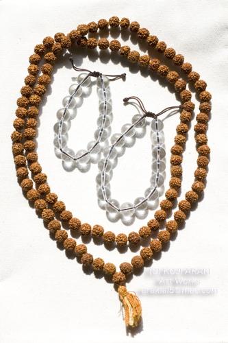 金剛菩提樹数珠と水晶01