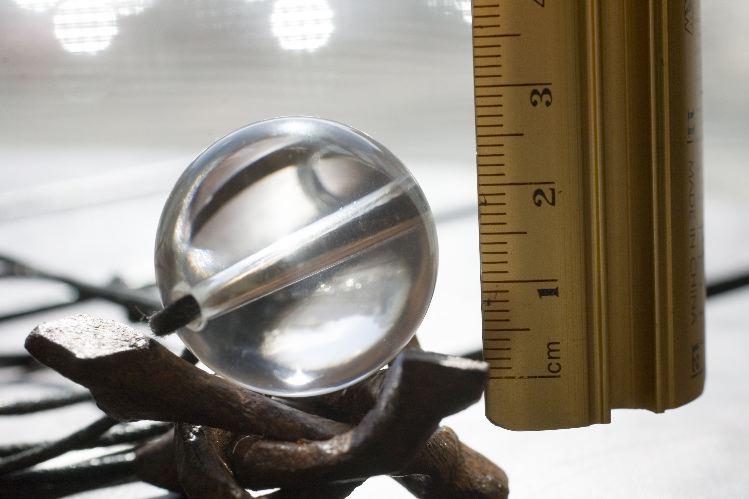 一寸玉水晶ネックレス6