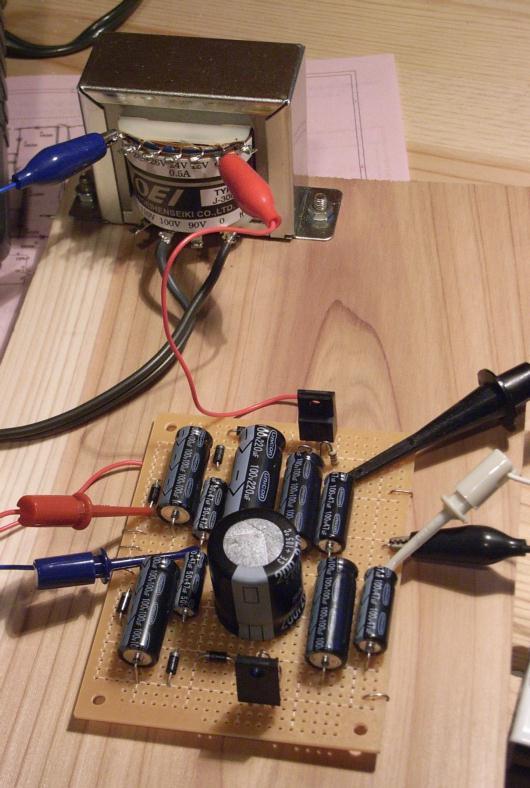電源ユニットの実験