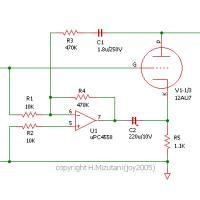 アクティブP-K帰還増幅回路
