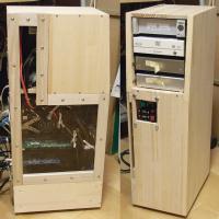 木製オリジナルPCケース