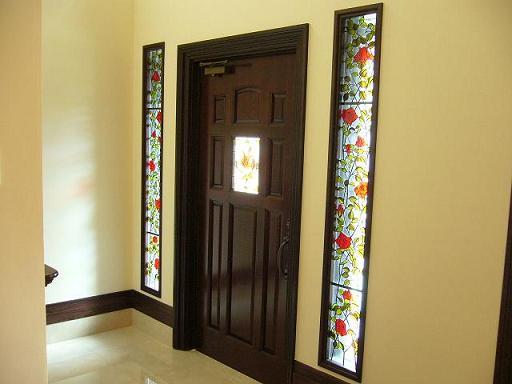 バラ の 玄関