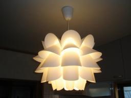 IKEAイケアの照明 KNAPPA
