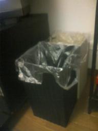 我家のゴミ箱