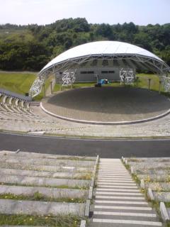 つがる地球村 野外円形劇場