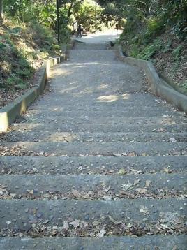 50 通学路急階段.JPG