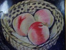 dim peach