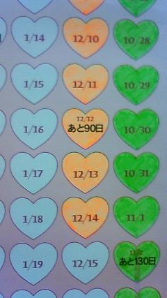 新幹線カウントダウン