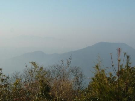 武田山頂から