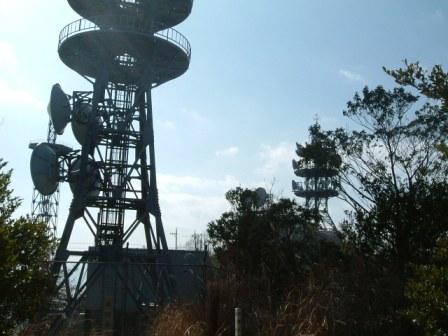 大茶臼山電波塔