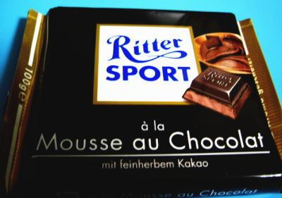 リッタースポーツ「ダークチョコレートムースショコラ」