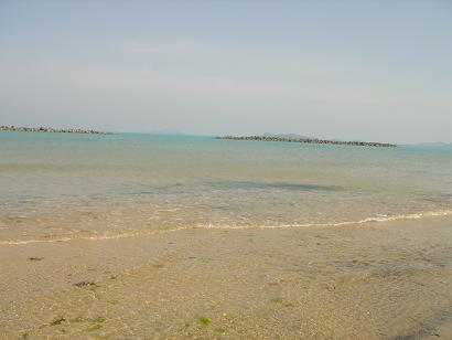 きれいな 新宮海岸