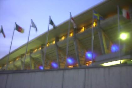 2002年W杯・横浜国際競技場。